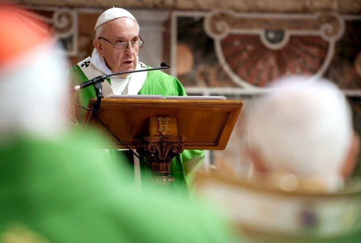 Lent is time to let go of 'destructive' selfishness, says Pope Francis