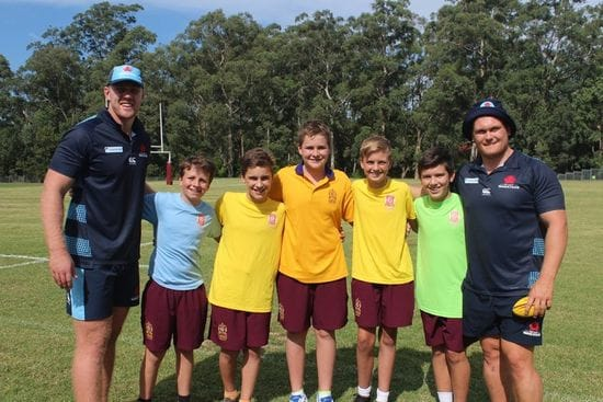 Oakhill College Welcomes NSW Waratah's