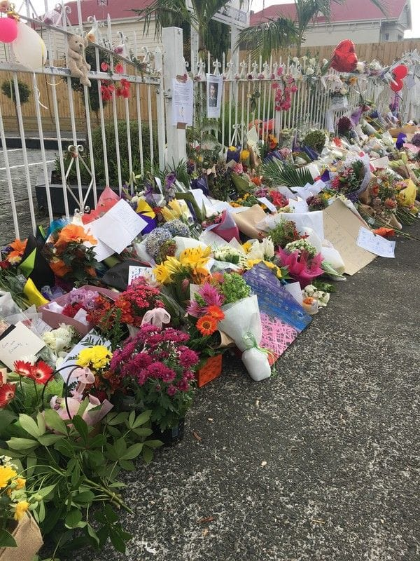 Outpouring of grief in Aotearoa/New Zealand