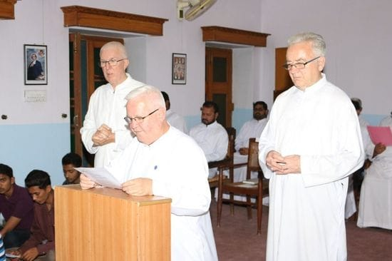 Brother David Hawke celebrates Golden Jubilee in Pakistan