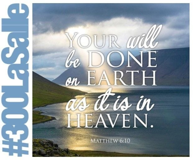 """""""God be blessed and his will be done."""""""