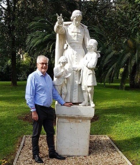 Meeting the Pope - Robert Dempsey's Pilgrimage