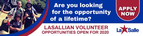 2020 Lasallian Volunteers Applications