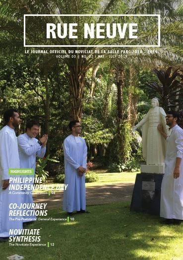 PARC Novitiate Newsletter Final Issue 1819
