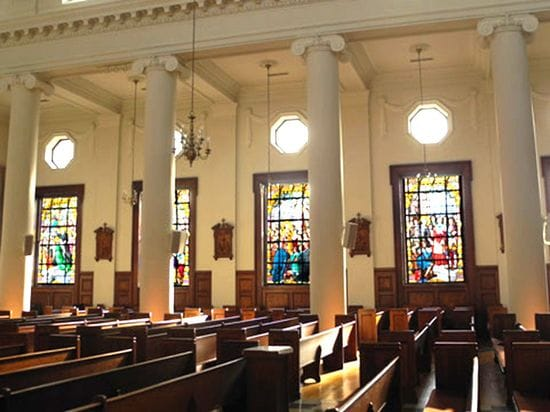 Mobile Site Gives Guided Tour of De La Salle Chapel Windows