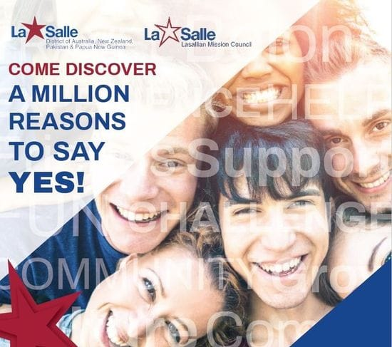 COME DISCOVER! Lasallian Vocations Weekend