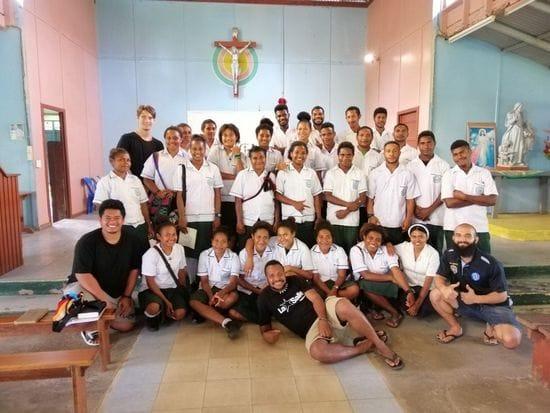 Final Retreats at Mainohana Catholic Secondary School, PNG