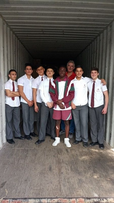 Resources ready to be sent to those in need in PNG