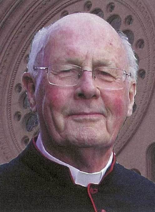 We pray for the eternal rest of Monsignor Brian Arahill