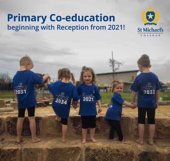 ST MICHAEL'S COLLEGE TRANSITION TO A FULLY CO-EDUCATIONAL SCHOOL