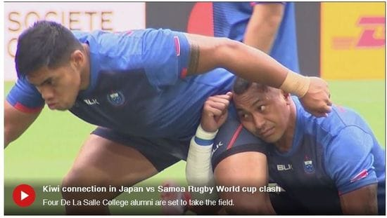 De La Salle Takes on the Rugby World Cup
