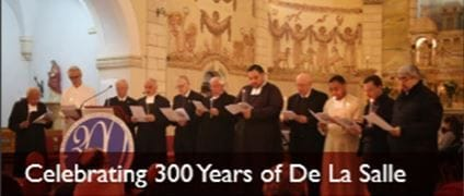 Bethleham celebrating 300 years of De La Salle