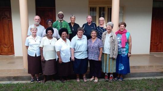 DLS Brother volunteers in South Sudan