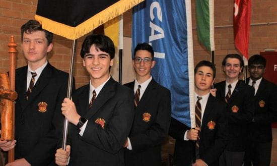 St James College celebrate the 2020 College Captains and House Leaders