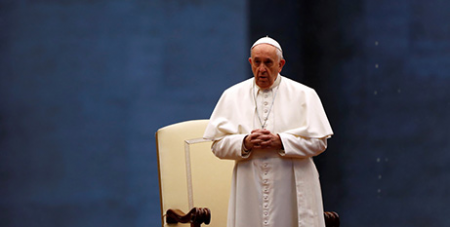 Pope Francis offers message of hope
