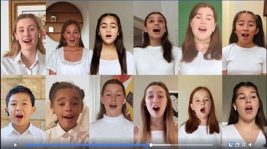 St Michael's student performs in Qantas Video