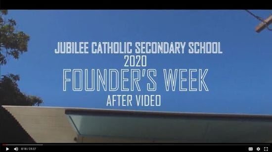 Watch: Jubilee Catholic Secondary School honour the Founder