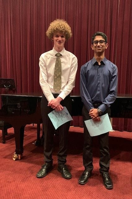 FDMC Students take on the annual Taranaki Symphony Orchestra Concerto Competition