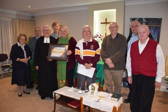 Father Kevin Walsh was granted Association to the Castle Hill Community