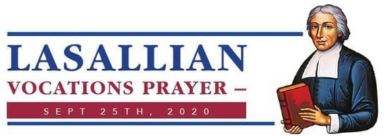Lasallian Vocations Prayer - September