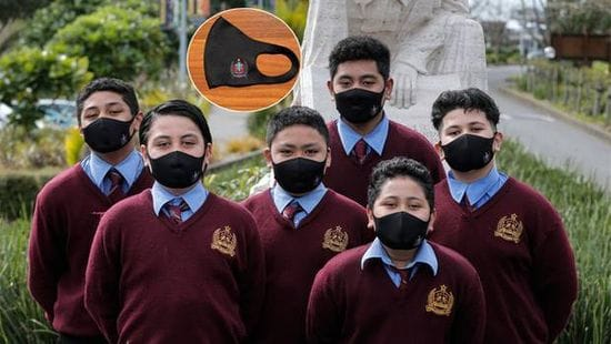Masks become part of uniform at DLS Mangere