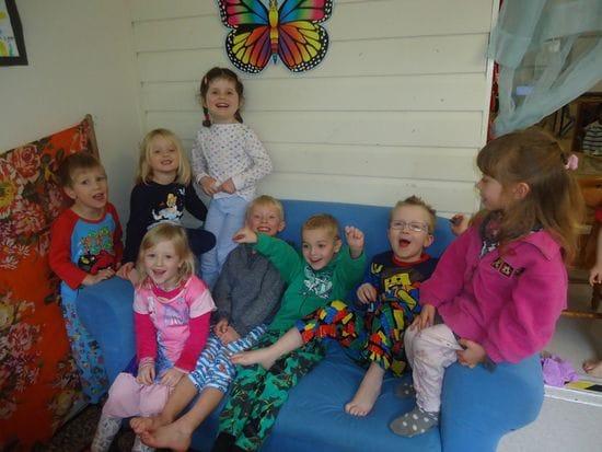 Pyjama Day at Harty Street