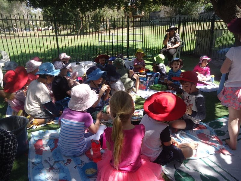 Picnic Day for a special Harty Street friend