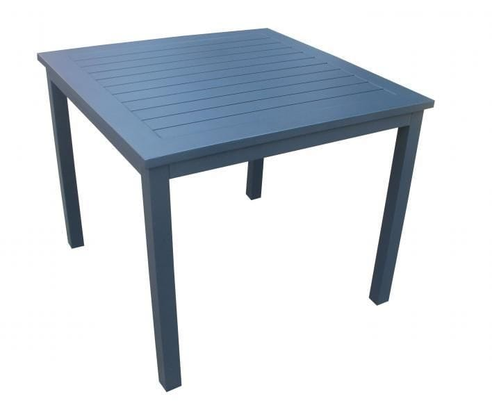 Aluminium Slat Top Table