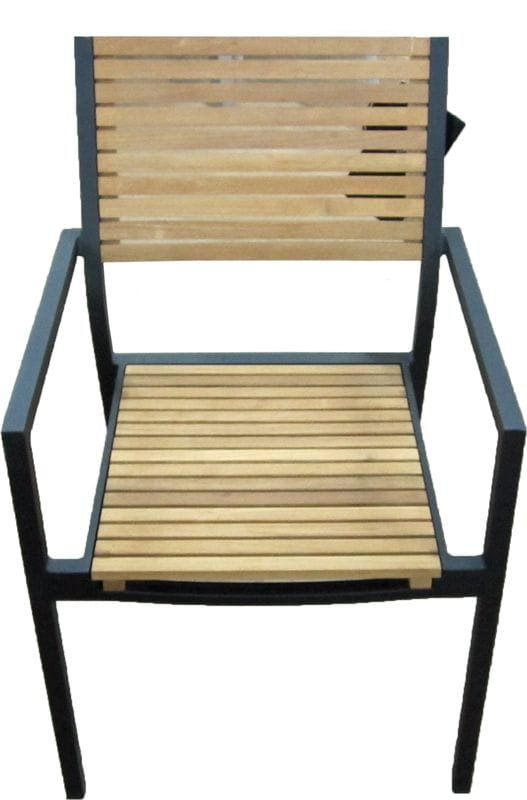 Teak Aluminium chair