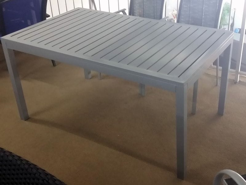 Aluminium Slat Table
