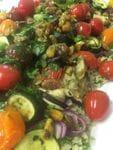 Vegetable Tabbouleh Salad