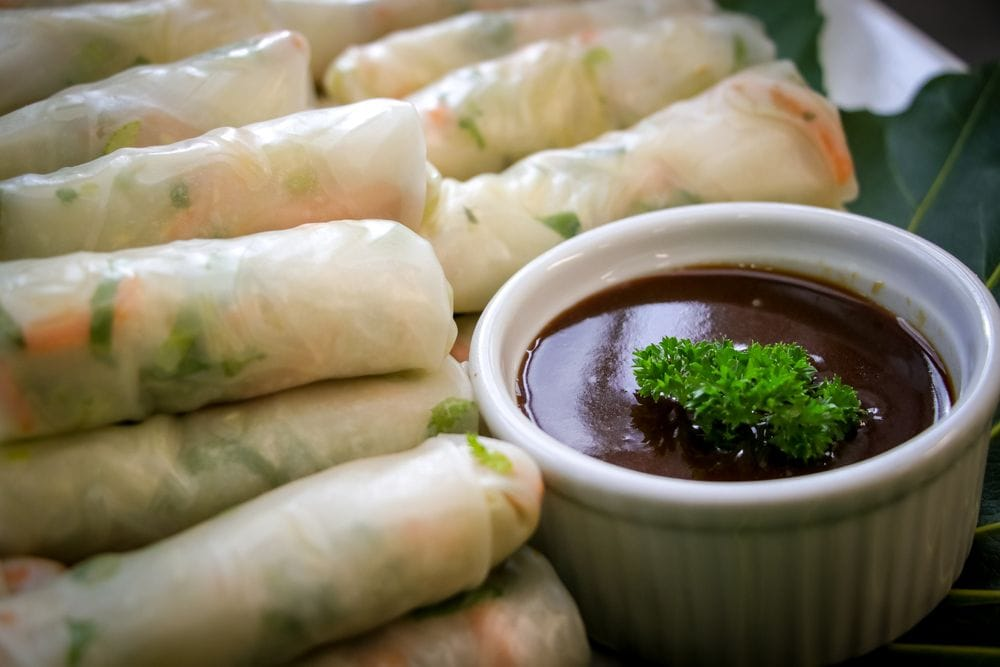 Thumbnail Asian Rice Paper Rolls