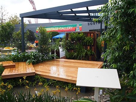 TAFE NSW Landscape Construction apprentices showcase their skills at the 2016 Sydney Royal Easter Show
