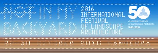 2016 International Festival of Landscape Architecture