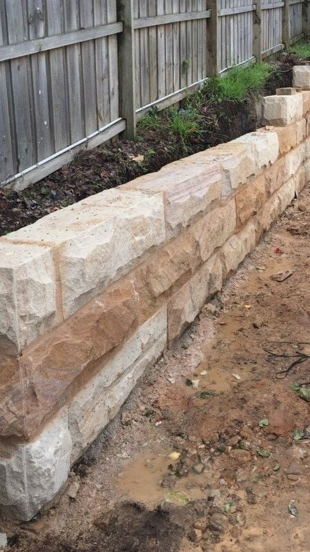 Platinum Partner Gosford Quarries - Sandstone Retaining Walls Billets
