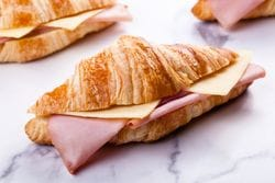 PACK OF HAM & CHEESE CROISSANTS