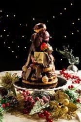 CHRISTMAS PROFITEROLE TOWER