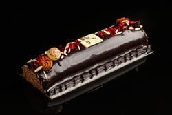 CHOCOLATE FRAMBOISE LOG