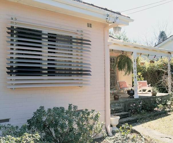 external window shutters folding external shutters central coast
