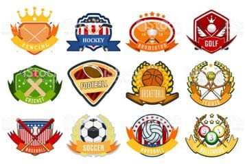 Show true fan support for your sporting team with their logo or team colours printed on your blind