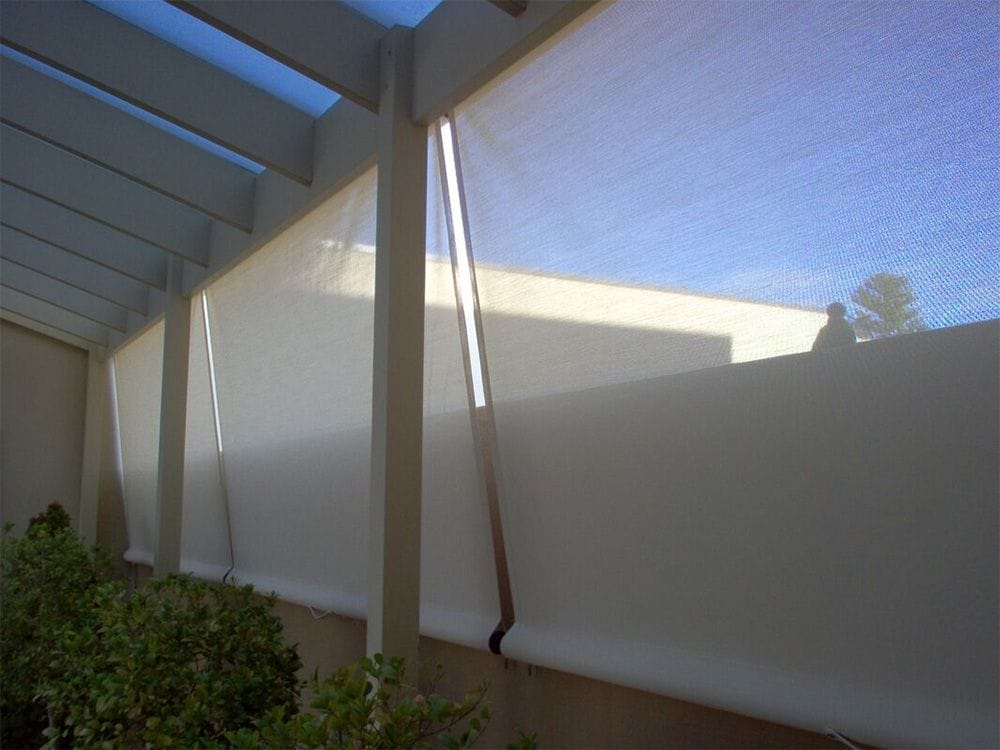 PNP Sunshade Straight Drop Awning