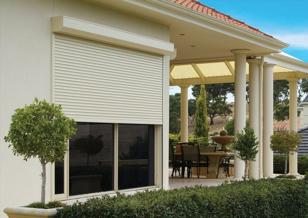 Choose aluminium roller shutters for fantastic insulation, noise and light reduction. Bush fire and cyclone safe roller shutters are available.