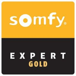 Premier Shades partners with Somfy | Expert Gold
