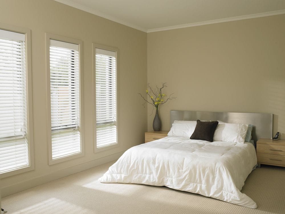White Venetian Blinds | Premier Shades Central Coast