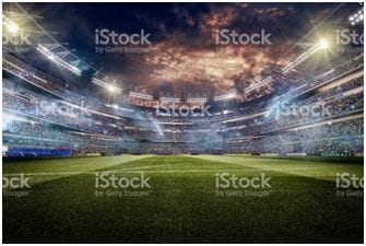 Serious sporting fans can print the image of a crowd filled stadium on a block out blind for ultimate media room atmosphere
