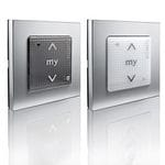 SOMFY SMOOVE WALL MOUNT RTS TRANSMITTERS  DOUBLE WALL FRAME