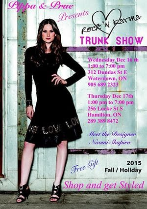 Rock'n Karma Trunk show