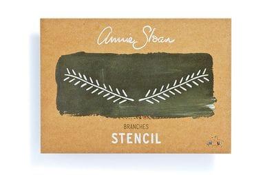 A4 Branches Stencil
