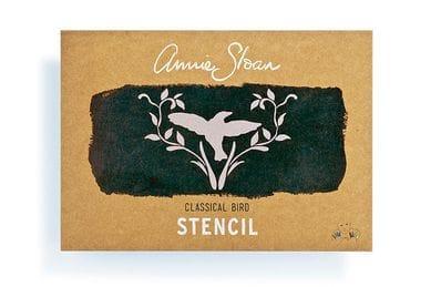 A4 Classical Bird Stencil
