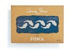 A4 Fish Stencil